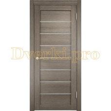 Дверь ЭКО 04 вишня малага, остекленная