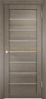 2380, Дверь ЭКО 04 вишня малага, остекленная, 21620, 3 750.00 р., 2380-01, , Двери Eldorf экошпон