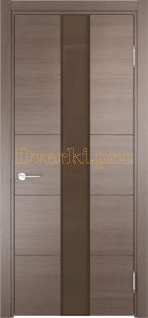 2835, Дверь Турин 14 дуб фремонт вералинга, остекленная, 22541, 6 935.00 р., 2835-01, , Двери экошпон Премиум