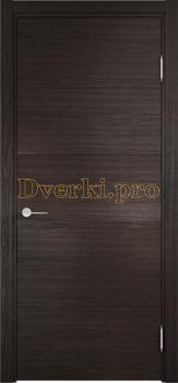 2858, Дверь Турин 01 дуб шоколад (CPL), глухая, 22584, 5 515.00 р., 2858-01, , Двери экошпон Премиум