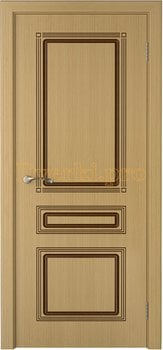 1663, Дверь Стиль дуб, глухая, 20221, 4 535.00 р., 1663-01, , Двери шпон Стандарт