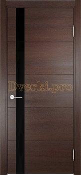 2514, Дверь Турин 03 дуб графит вералинга, остекленная, 21957, 5 705.00 р., 2514-01, , Двери экошпон Премиум