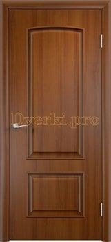 930, Дверь Тип С-26 лесной орех, глухая, 14498, 3 730.00 р., 930-01, , Двери в финиш-пленке