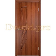 Дверь Тип С-02 итальянский орех, глухое
