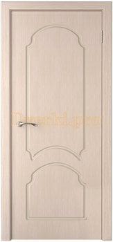 1111, Дверь Соната беленый дуб, глухая, 15757, 4 915.00 р., 1111-01, , Двери шпон Стандарт