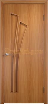 820, Дверь Тип С-07 миланский орех, глухая, 12983, 2 135.00 р., 820-01, , Двери в финиш-пленке