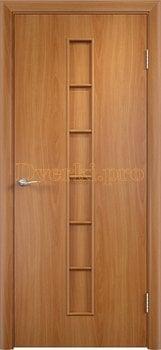 877, Дверь Тип С-12 миланский орех, глухая, 13289, 1 910.00 р., 877-01, , Двери в финиш-пленке