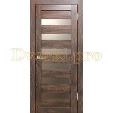 Дверь Бавария 03 3Д-Люкс ясень таволато, остекленная