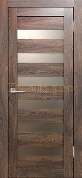 3595, Дверь Бавария 03 3Д-Люкс ясень таволато, остекленная, 27501, 3 065.00 р., 3595-01, , Двери экошпон Лайт