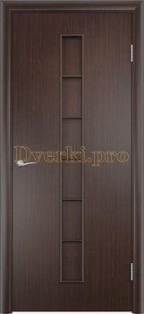865, Дверь Тип С-12 венге, глухая, 13238, 2 160.00 р., 865-01, , Двери в финиш-пленке