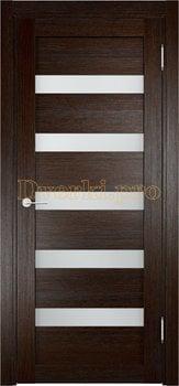 2065, Дверь Мюнхен 03 дуб темный, остекленная, 20990, 3 100.00 р., 2065-01, , Двери Eldorf экошпон с 3D покрытием