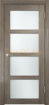 1305, Дверь Рома п-11 вишня малага, остекленная, 18096, 6 190.00 р., 1305-01, , Двери экошпон Премиум