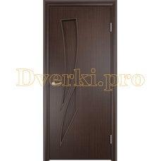 Дверь Тип С-02 венге, глухая