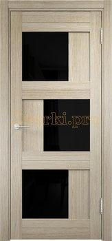 2542, Дверь Баден 10 (Лакобель) дуб дымчатый, остекленная, 21985, 5 410.00 р., 2542-01, , Двери Eldorf экошпон с 3D покрытием