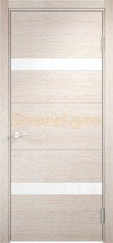 2531, Дверь Турин 05 дуб бежевый вералинга, остекленная, 21974, 5 705.00 р., 2531-01, , Двери экошпон Премиум