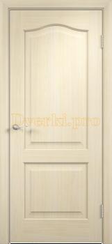 2228, Дверь Классика беленый дуб, глухая, 21357, 2 595.00 р., 2228-01, , Двери облицованные ПВХ
