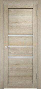 2011, Дверь Мюнхен 01 дуб дымчатый, остекленная, 20936, 3 100.00 р., 2011-01, , Двери Eldorf экошпон с 3D покрытием