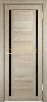 2587, Дверь Берлин 06 (Лакобель) дуб дымчатый, остекленная, 22030, 4 785.00 р., 2587-01, , Двери Eldorf экошпон с 3D покрытием