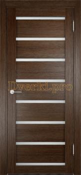 2190, Дверь Мюнхен 05 дуб табак, остекленная, 21319, 3 100.00 р., 2190-01, , Двери Eldorf экошпон с 3D покрытием