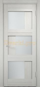 2135, Дверь Баден 10 слоновая кость, остекленная, 21215, 4 125.00 р., 2135-01, , Двери Eldorf экошпон с 3D покрытием