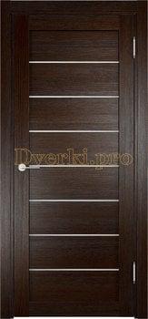 2086, Дверь Мюнхен 04 дуб темный, остекленная, 21011, 3 100.00 р., 2086-01, , Двери Eldorf экошпон с 3D покрытием