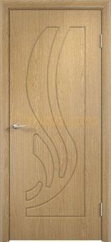 268, Дверь Лиана дуб, глухая, 11185, 3 905.00 р., 268-01, , Двери облицованные ПВХ