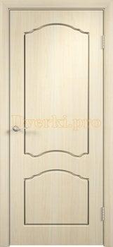 500, Дверь Лидия беленый дуб, глухая, 11607, 3 600.00 р., 500-01, , Двери облицованные ПВХ