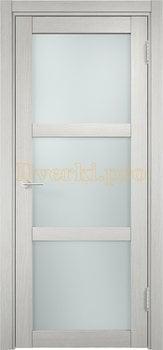 1985, Дверь Баден 02 слоновая кость, остекленная, 20910, 3 415.00 р., 1985-01, , Двери Eldorf экошпон с 3D покрытием