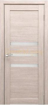 3850, Дверь X-6 лиственница кремовая, остекленная, 29646, 3 645.00 р., 3850-01, , Двери экошпон Стандарт
