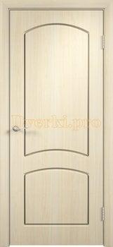 413, Дверь Кэрол беленый дуб, глухая, 11520, 4 010.00 р., 413-01, , Двери облицованные ПВХ