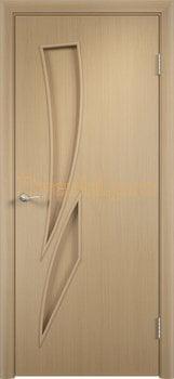 702, Дверь Тип С-02 беленый дуб, глухая, 29455, 2 300.00 р., 702-01, , Двери в финиш-пленке