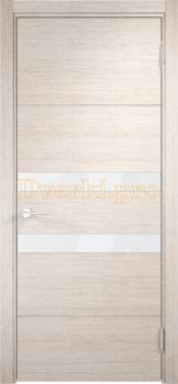 2801, Дверь Турин 11 дуб бежевый вералинга, остекленная, 22507, 5 705.00 р., 2801-01, , Двери экошпон Премиум