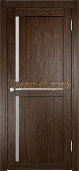 1914, Дверь Берлин 01 дуб табак, остекленная, 20839, 4 055.00 р., 1914-01, , Двери Eldorf экошпон с 3D покрытием