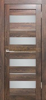 3586, Дверь Бавария 02 3Д-Люкс ясень таволато, остекленная, 27490, 3 065.00 р., 3586-01, , Двери экошпон Лайт