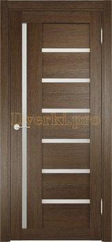 2346, Дверь ЭКО 02 венге мелинга, остекленная, 21586, 3 955.00 р., 2346-01, , Двери Eldorf экошпон