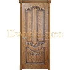 Дверь Муар орех-2, глухая