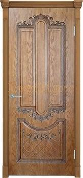 3679, Дверь Муар орех-2, глухая, 27682, 6 540.00 р., 3679-01, , Двери шпон Комфорт