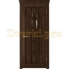 Дверь Квадра каштан, глухая