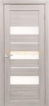 3865, Дверь X-7 лиственница белая, остекленная, 29661, 3 645.00 р., 3865-01, , Двери экошпон Стандарт