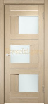 1600, Дверь Сицилия 14 капучино, остекленная, 19171, 9 470.00 р., 1600-01, , Двери экошпон Премиум