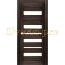 Дверь X-5 грей, остекленная