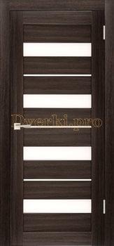 3825, Дверь X-5 грей, остекленная, 29621, 3 645.00 р., 3825-01, , Двери экошпон Стандарт