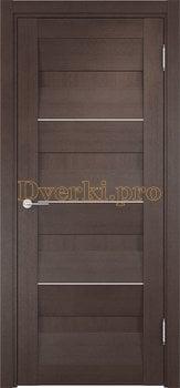 1448, Дверь Сицилия 11 венге, глухая, 18917, 9 470.00 р., 1448-01, , Двери экошпон Премиум