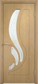 253, Дверь Лиана дуб, остекленная, 11170, 4 490.00 р., 253-01, , Двери облицованные ПВХ