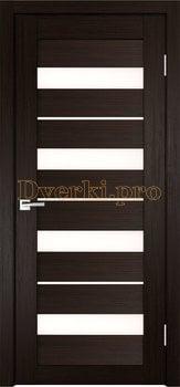 3821, Дверь X-5 венге, остекленная, 29617, 3 645.00 р., 3821-01, , Двери экошпон Стандарт