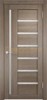 1934, Дверь Берлин 02 дуб дымчатый, остекленная, 20859, 3 730.00 р., 1934-01, , Двери Eldorf экошпон с 3D покрытием