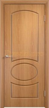 587, Дверь Неаполь миланский орех, глухая, 11694, 4 225.00 р., 587-01, , Двери облицованные ПВХ