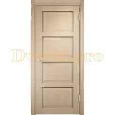 Дверь Рома п-10 беленый дуб, глухая