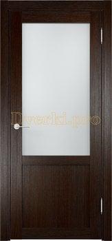 1995, Дверь Баден 04 дуб темный, остекленная, 20920, 3 240.00 р., 1995-01, , Двери Eldorf экошпон с 3D покрытием