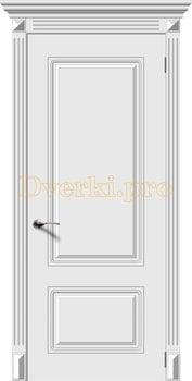 2717, Дверь Ноктюрн белая эмаль, глухая, 22225, 5 995.00 р., 2717-01, , Эмаль, серия Классика
